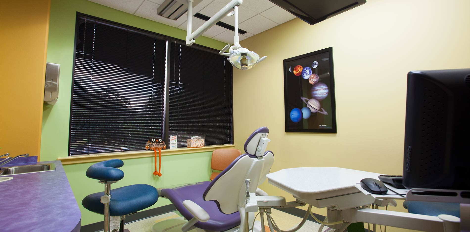 Thiel Pediatric Dentistry Exam Room