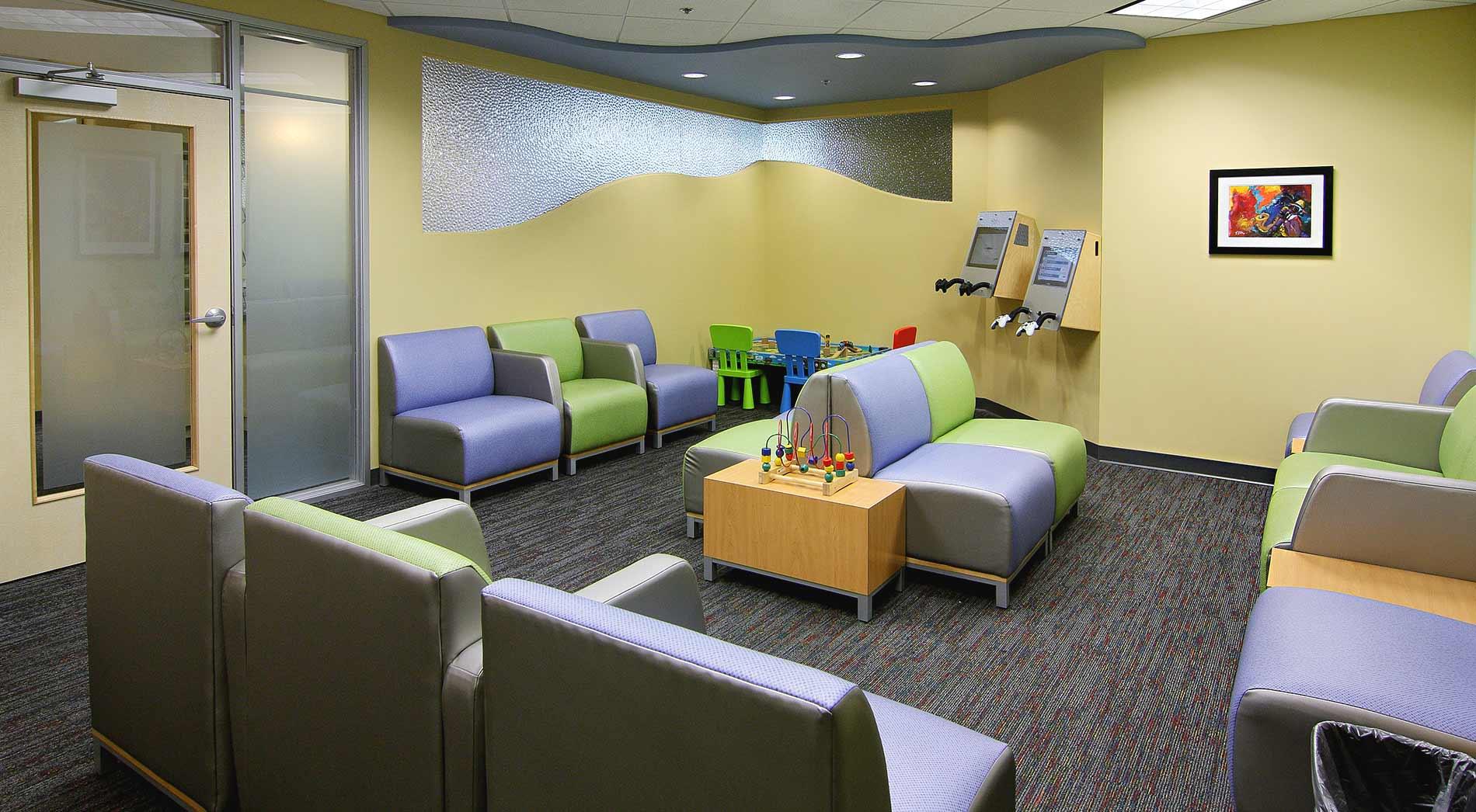 Thiel Pediatric Dentistry Waiting Room