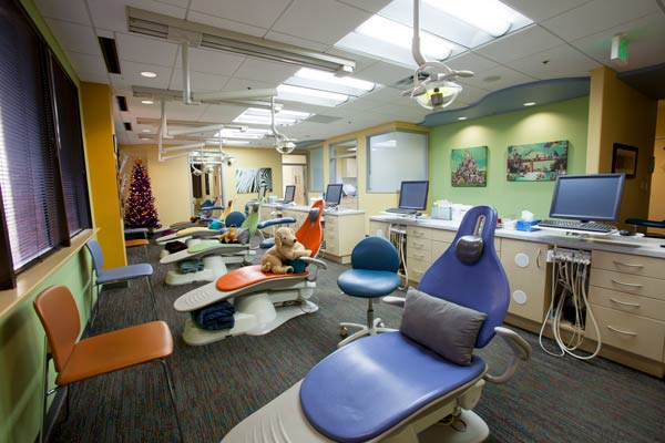 Thiel Pediatric Dentistry Exam Room in Austin, TX